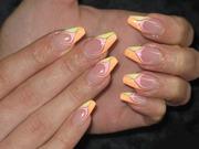 профессиональное гелевое наращивание ногтей