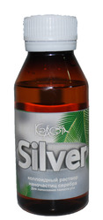 «SILVER»  коллоидный раствор наночистиц серебра